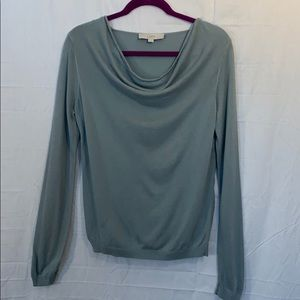 Ann Taylor LOFT long sleeve cowl neck sweater